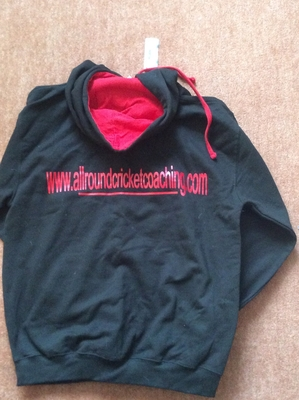 Reverse image of hoody tops