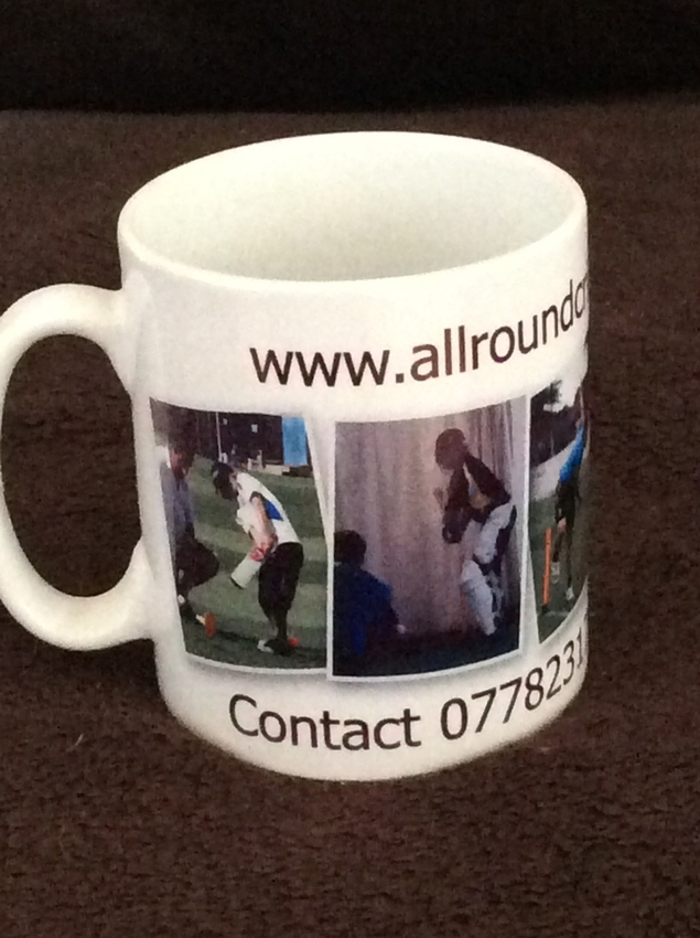 Mugs these can be personalised with your own image