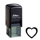 Loyalty Card Self-Inking Rubber Stamp Heart