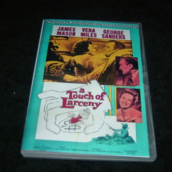 A TOUCH OF LARCENY 1959 DVD