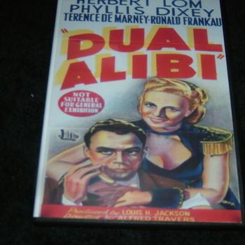 DUAL ALIBI 1947 DVD