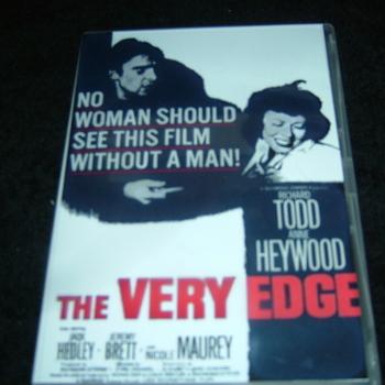 THE VERY EDGE 1963 DVD