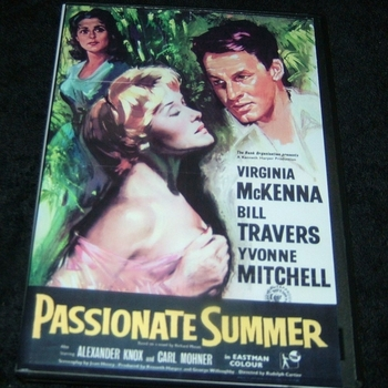 PASSIONATE SUMMER 1958 DVD
