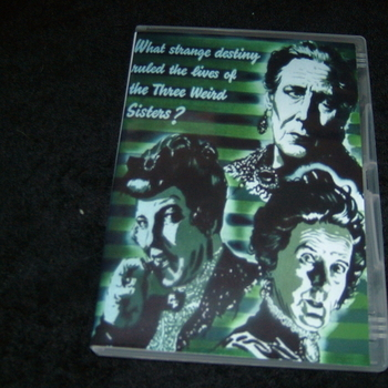 THREE WEIRD SISTERS 1948 DVD