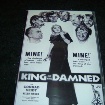 KING OF THE DAMNED 1935 DVD