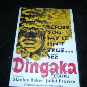 DINGAKA 1964 DVD STANLEY BAKER