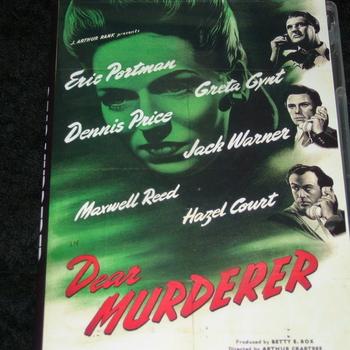 DEAR MURDERER 1947 DVD