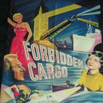 FORBIDDEN CARGO 1954 DVD