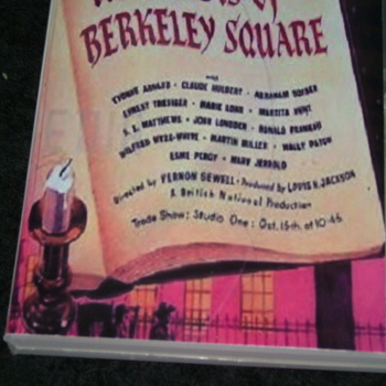 THE GHOSTS OF BERKELEY SQUARE 1947 DVD
