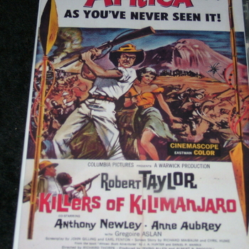 KILLERS OF KILIMANJARO 1959 DVD