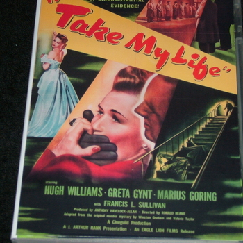 TAKE MY LIFE 1947 DVD