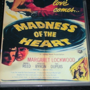 MADNESS OF THE HEART 1949 DVD