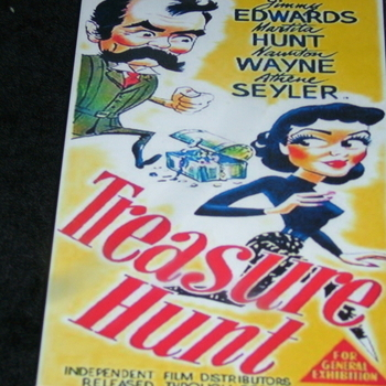 TREASURE HUNT 1952 DVD
