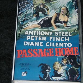 PASSAGE HOME 1955 DVD