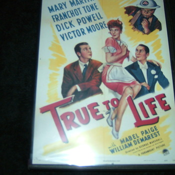 true to life 1943 dvd