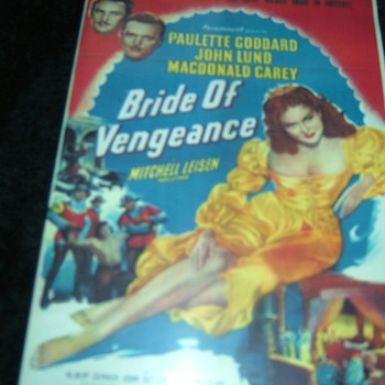 bride of vengeance 1949 dvd