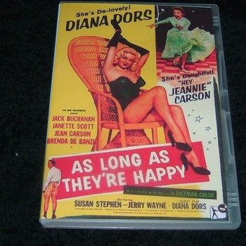 AS LONG AS THEY'RE HAPPY 1955 DVD