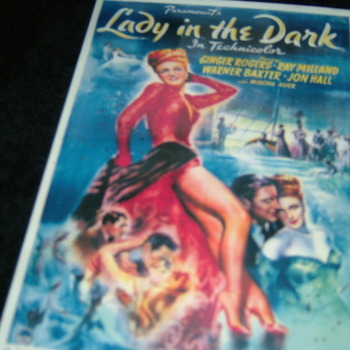 LADY IN THE DARK 1944 DVD