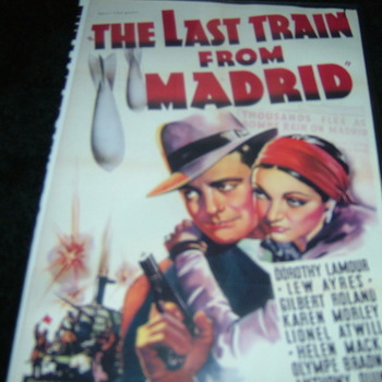 LAST TRAIN FROM MADRID 1937 DVD