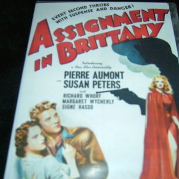 ASSIGNMENT IN BRITTANY  1943 DVD
