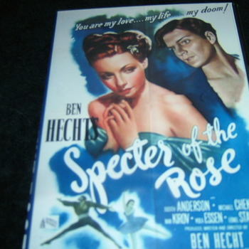 SPECTER OF THE ROSE 1946 DVD