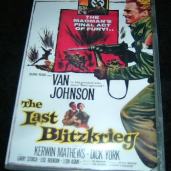 THE LAST BLITZKRIEG 1959 DVD