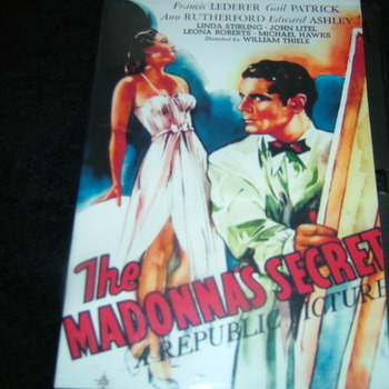 THE MADONNA'S SECRET 1946 DVD