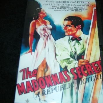 THE MADONNA'S SECRET 1946 DVD