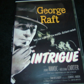 INTRIGUE 1947 DVD
