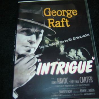 INTRIGUE 1947 DVD