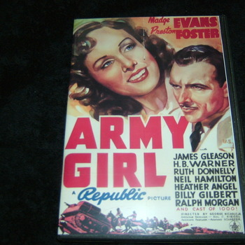 ARMY GIRL 1938 DVD