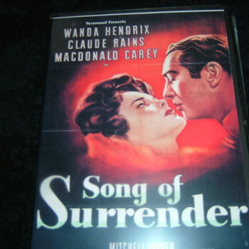 SONG OF SURRENDER 1949 DVD
