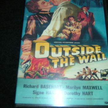 OUTSIDE THE WALL 1950 DVD