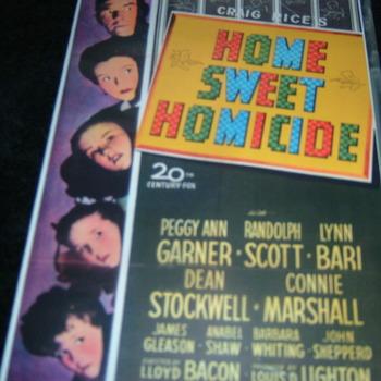 HOME SWEET HOMICIDE 1946 DVD