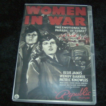 WOMEN IN WAR 1940 DVD
