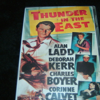 THUNDER IN THE EAST 1952 alan ladd DVD