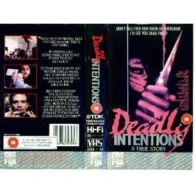 DEADLY INTENTIONS (1985) on DVD. Stars Michael Biehn