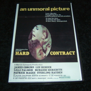 HARD CONTRACT 1969 DVD
