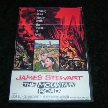 THE MOUNTAIN ROAD 1960 DVD
