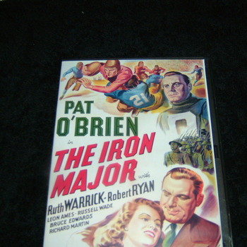 THE IRON MAJOR 1943 DVD
