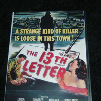 THE 13TH LETTER 1951 DVD
