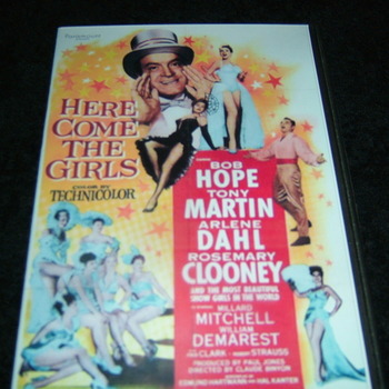 HERE COME THE GIRLS 1953 DVD