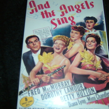 AND THE ANGELS SING 1944 DVD