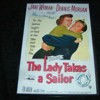 THE LADY TAKES A SAILOR 1949 DVD