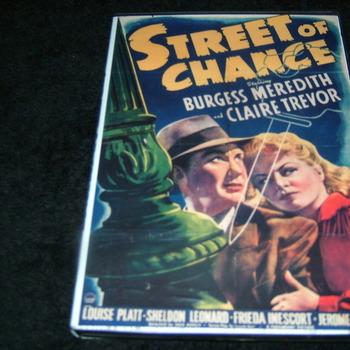 STREET OF CHANCE 1942 DVD