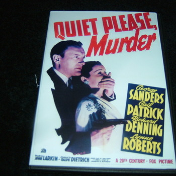 QUIET PLEASE MURDER 1942 DVD