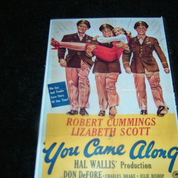 YOU CAME ALONG 1945 DVD