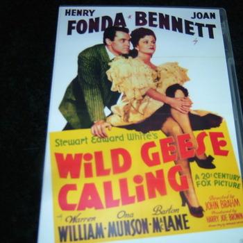 WILD GEESE CALLING 1941 DVD