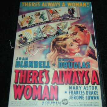 THERE'S ALWAYS A WOMAN 1938 DVD