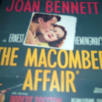 THE MACOMBER AFFAIR 1947 gregory peck DVD